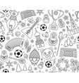 russian world cup soccer football championship vector image vector image