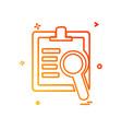 text icon design vector image vector image