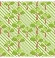 Simple tree seamless vector image
