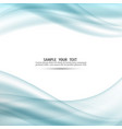 abstract blue color modern background vector image vector image