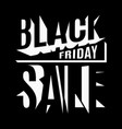 black friday holiday 3d lettering banner vector image vector image