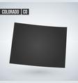 colorado usa symbol icon flat vector image vector image