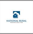 dream home logo design idea inspiration vector image vector image