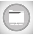 file design Media icon Flat vector image vector image