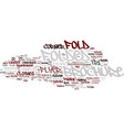 folklore word cloud concept vector image vector image