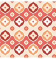 Golden ikat geometric seamless pattern background vector image vector image