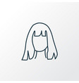 hairdresser icon line symbol premium quality vector image