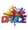 modern dance dance party vector image