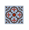 red and brown patterns vector image vector image