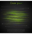 Shiny green abstract stripes vector image vector image