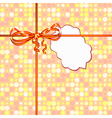 small card background vector image vector image