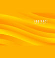yellow abstract modern background vector image vector image