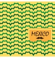 Ethnic mexican background vector image