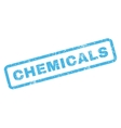 Chemicals Rubber Stamp vector image vector image