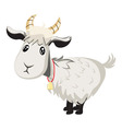 Cute Goat vector image vector image