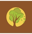 Full moon tree vector image vector image