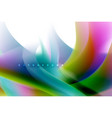 holographic paint explosion design fluid colors vector image vector image