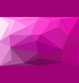 purple violet magenta abstract geometric rumpled vector image vector image