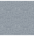seamless pattern with portfolios and pencils vector image vector image