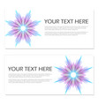 set of templates with blend liqud colors vector image vector image