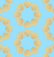 Sketch sea shell in vintage style vector image vector image