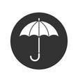 umbrella white vector image