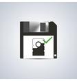 Icon successful write vector image