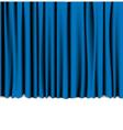 curtain theatre vector image