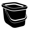 basket icon simple style vector image vector image