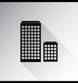 Buildings icon vector image