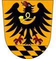 Coat of arms of esslingen in baden-wuerttemberg vector image
