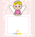 communion card vector image vector image