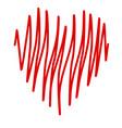 crayon valentine39 0 vector image vector image