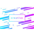 creative design poster abstract gradient vector image vector image