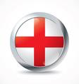 England flag button vector image vector image