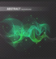 magic glowing effect on transparent background for vector image