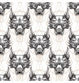 muzzle of the wolf is a seamless pattern for the vector image vector image
