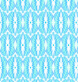 Tribal patterned blue vector image