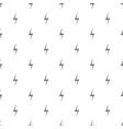 lightning pattern seamless vector image