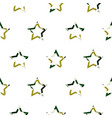 camouflage star shapes seamless pattern vector image