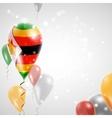 Flag of Zimbabwe vector image vector image