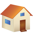 Home isolated vector image