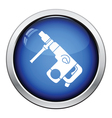 Icon of electric perforator vector image vector image