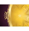 Purple Decorative Background vector image