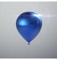 Realistic glossy balloon vector image