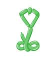 animal snake cobra balloons balloon vector image