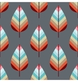 Seamless pattern with leafs EPS10 vector image