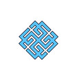 svarozhich is a symbol of the slavic god vedic vector image vector image