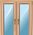 window a vector image vector image