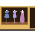 Boutique womens clothing shop vector image vector image